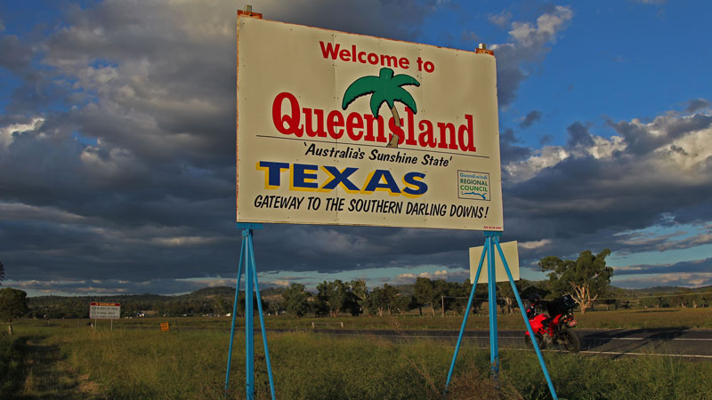 Map Of Texas Qld.The Stockman Hotel Motor Bike Nation
